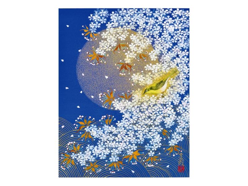 石踊 達哉 「夜桜」 ©Tatsuya Ishiodori