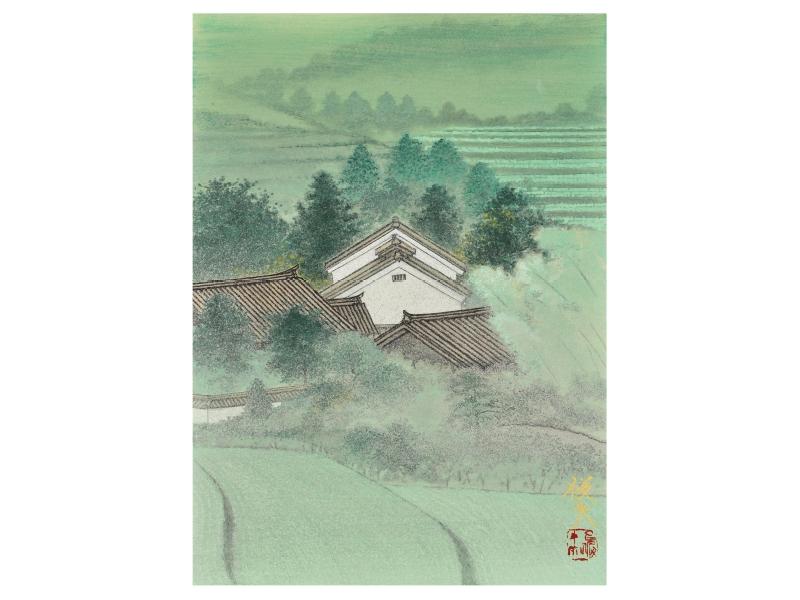 田渕 俊夫 「緑溢れる頃」©Toshio Tabuchi