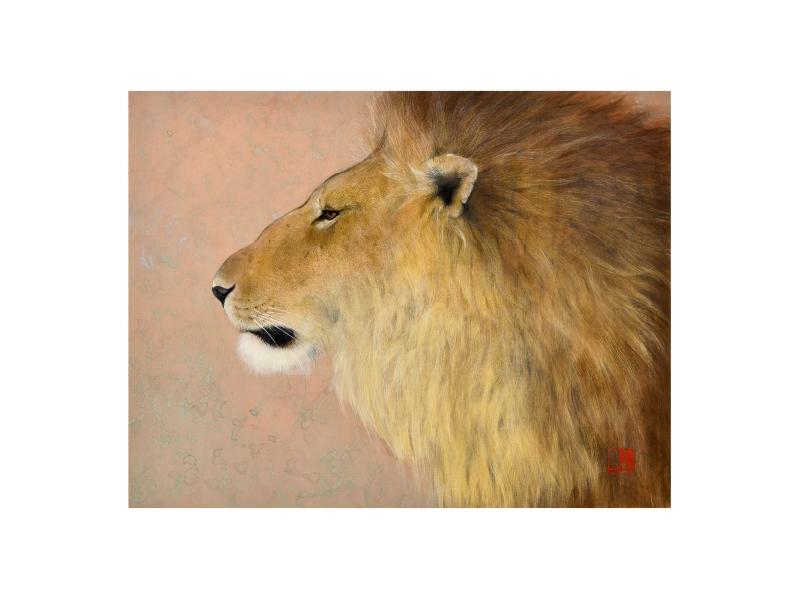 西野 陽一 「獅子」©Yoichi Nishino