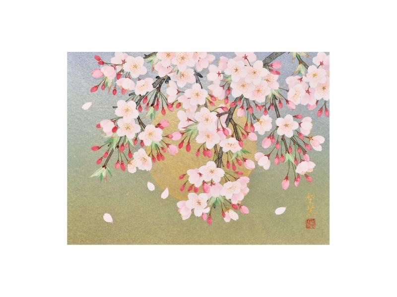 森田 りえ子 「桜月夜」©Rieko Morita