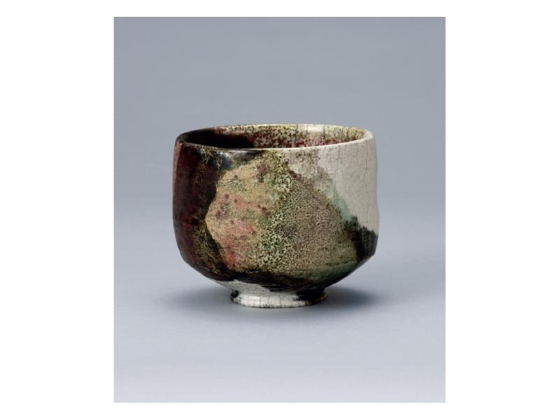大樋長左衛門 「窯変茶碗」©11th Ohi Chozaemon