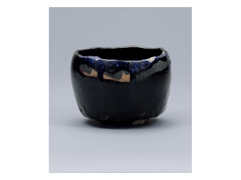 樂 吉左衞門 「黒茶碗」©Kichizaemon Raku