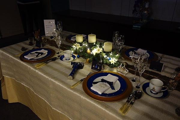 クリスマステーブル 星の王子様