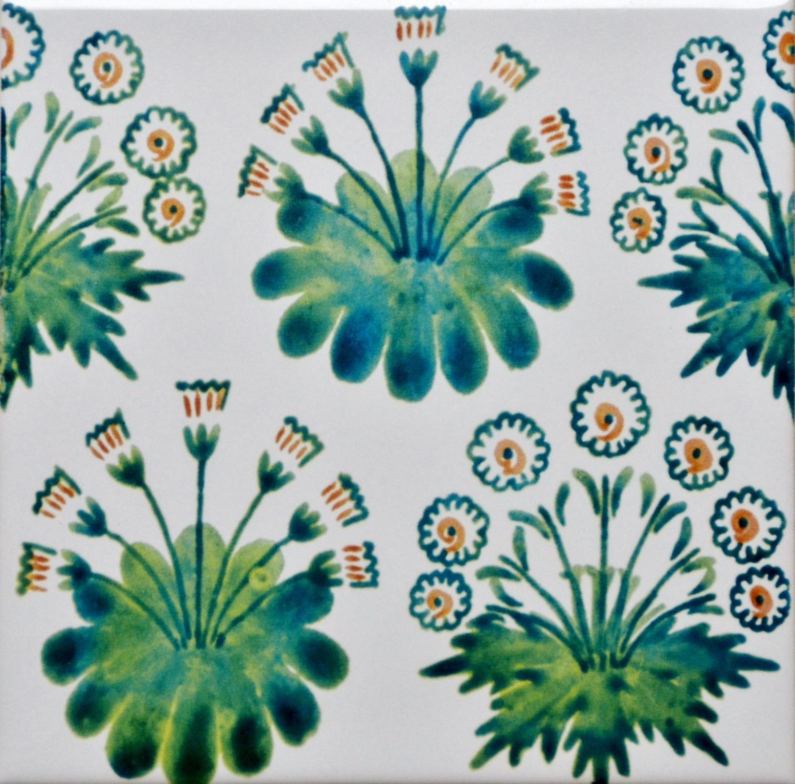 Daisy Green Tile