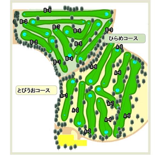 パークゴルフマップ_富山新港元気の森公園