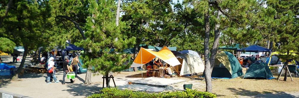 キャンプ_ふれあい健康広場