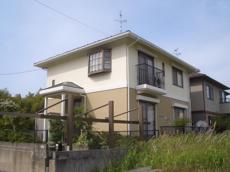 滋賀県竜王町松ヶ丘外壁・屋根塗替え後