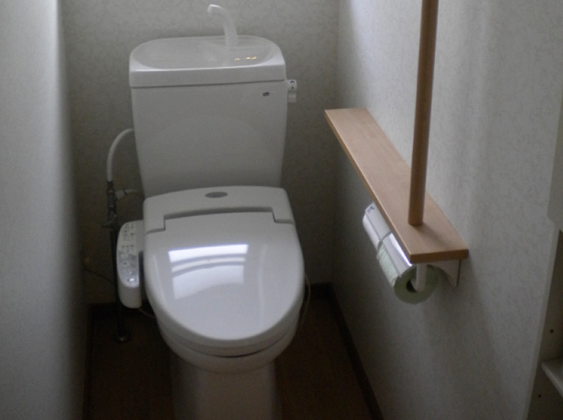 滋賀県近江八幡市トイレ改修後
