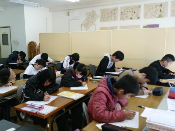 学習塾ブリッヂ 授業中