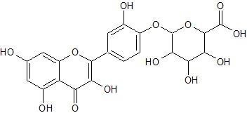 ケルセチン 4'-グルクロン酸抱合体