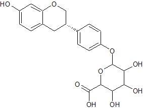 S-エクオール 4'-グルクロン酸抱合体