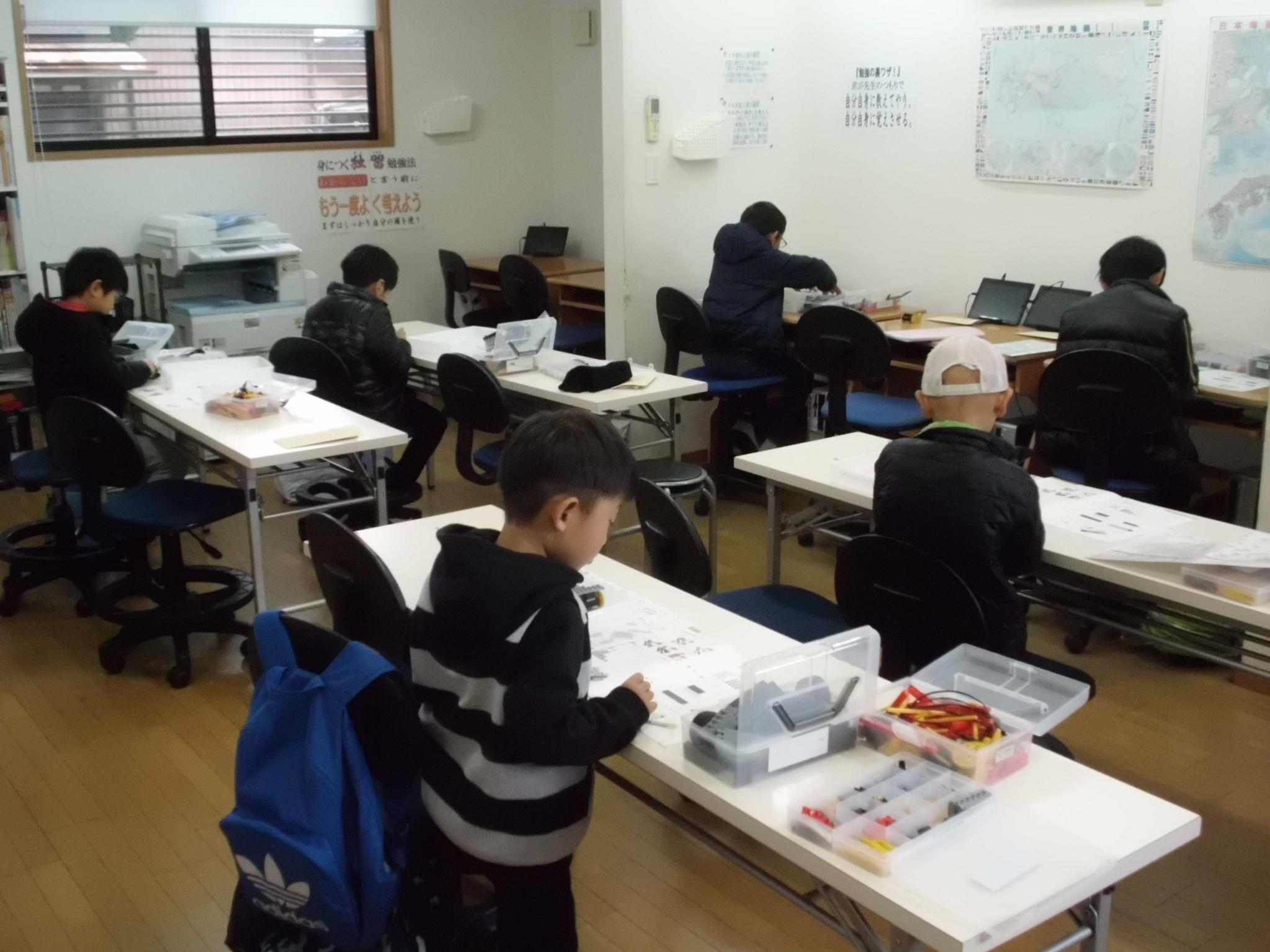 ロボット教室170414