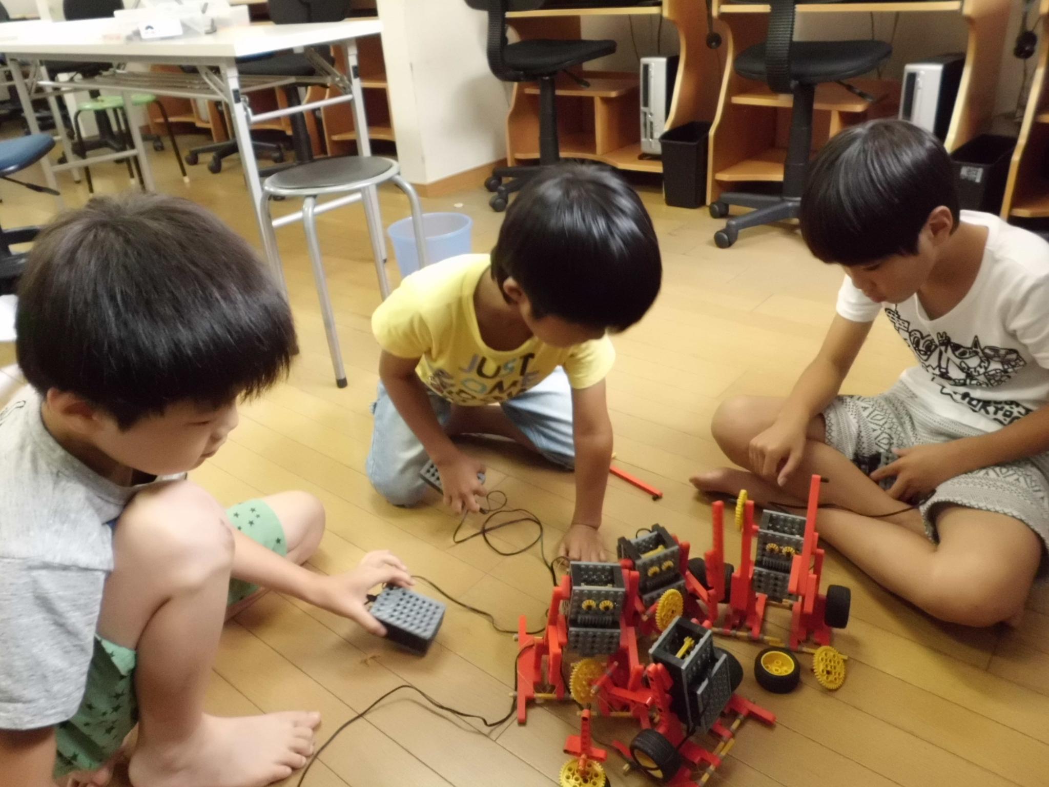 ロボット教室170722