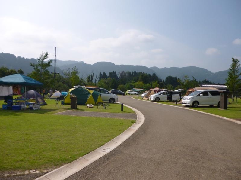 吉野オートキャンプ場_白山ろくテーマパーク
