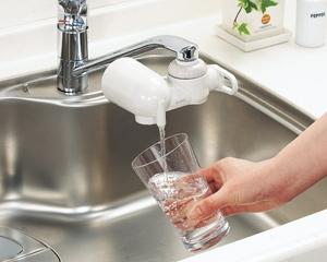 浄水器おいしい水プラス