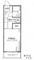 メゾンヴィヴァントSHIRAI A-202 1K