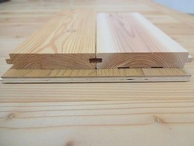 無垢床材と複合フローリング