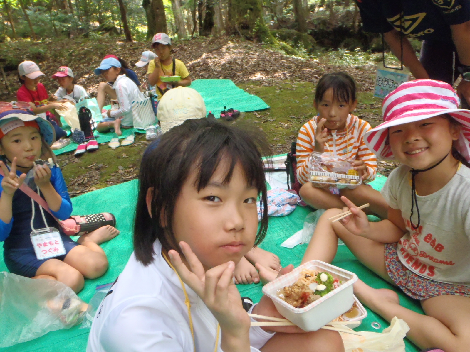サマーキャンプ昼食