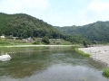 川遊び吉野川
