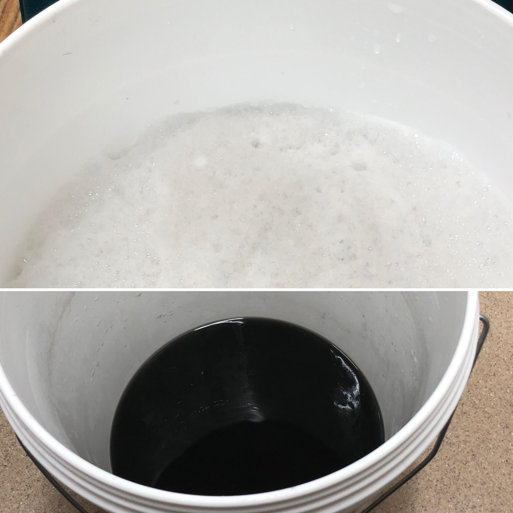 カーペット汚水