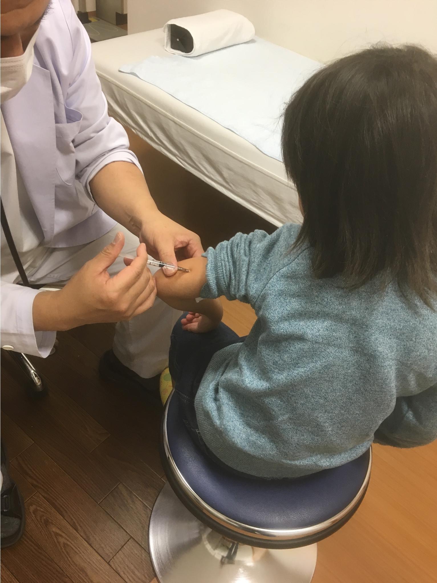 インフルエンザ注射
