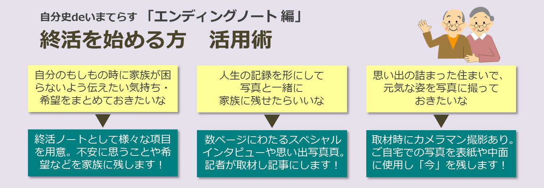 エンディングノート編活用術