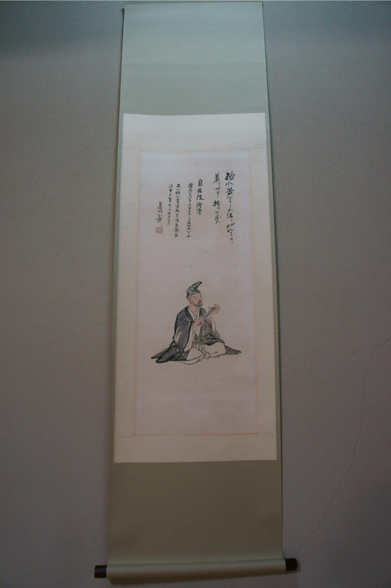 高三隆達の肖像画(顕本寺蔵)