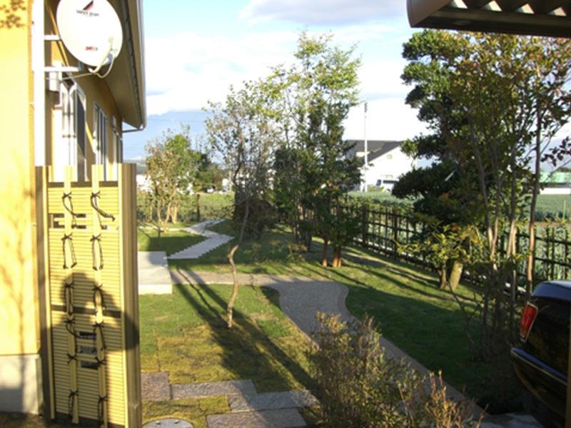 Y町S邸 庭・外構工事 エクステリアなどお庭づくりなら漆原造園土木で 群馬県