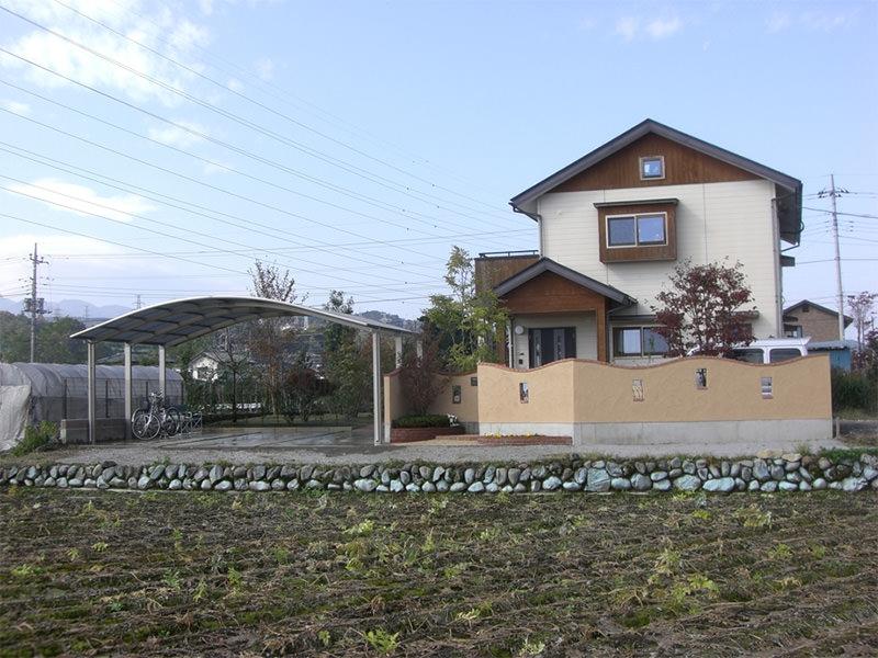 S市M邸 庭・外構・エクステリア工事  エクステリアなどお庭づくりなら漆原造園土木で 群馬県