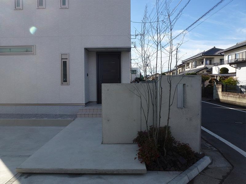 M市N邸 外構・エクステリア工事 エクステリアなどお庭づくりなら漆原造園土木で 群馬県