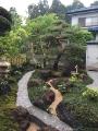 Y町U邸 作庭 エクステリアなどお庭づくりなら漆原造園土木で 群馬県