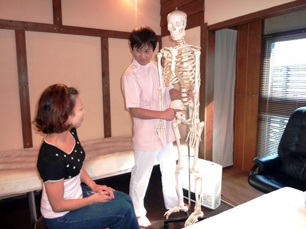 もりやま接骨院 施術の流れ3