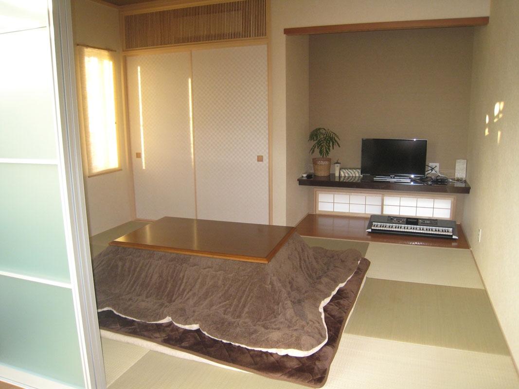 白い箱の家_和室
