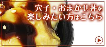 穴子・おまかせ丼