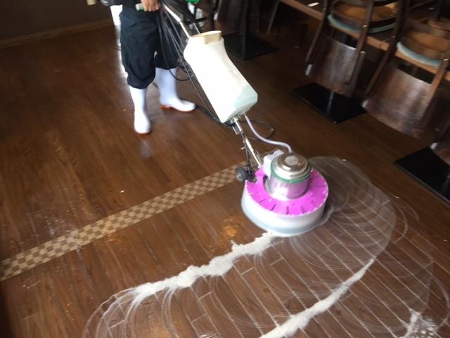 飲食店清掃1