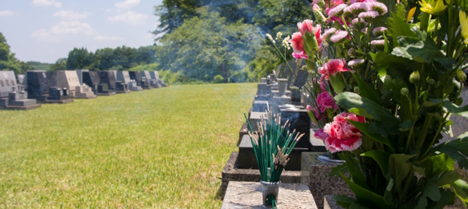 墓石クリーニングイメージ