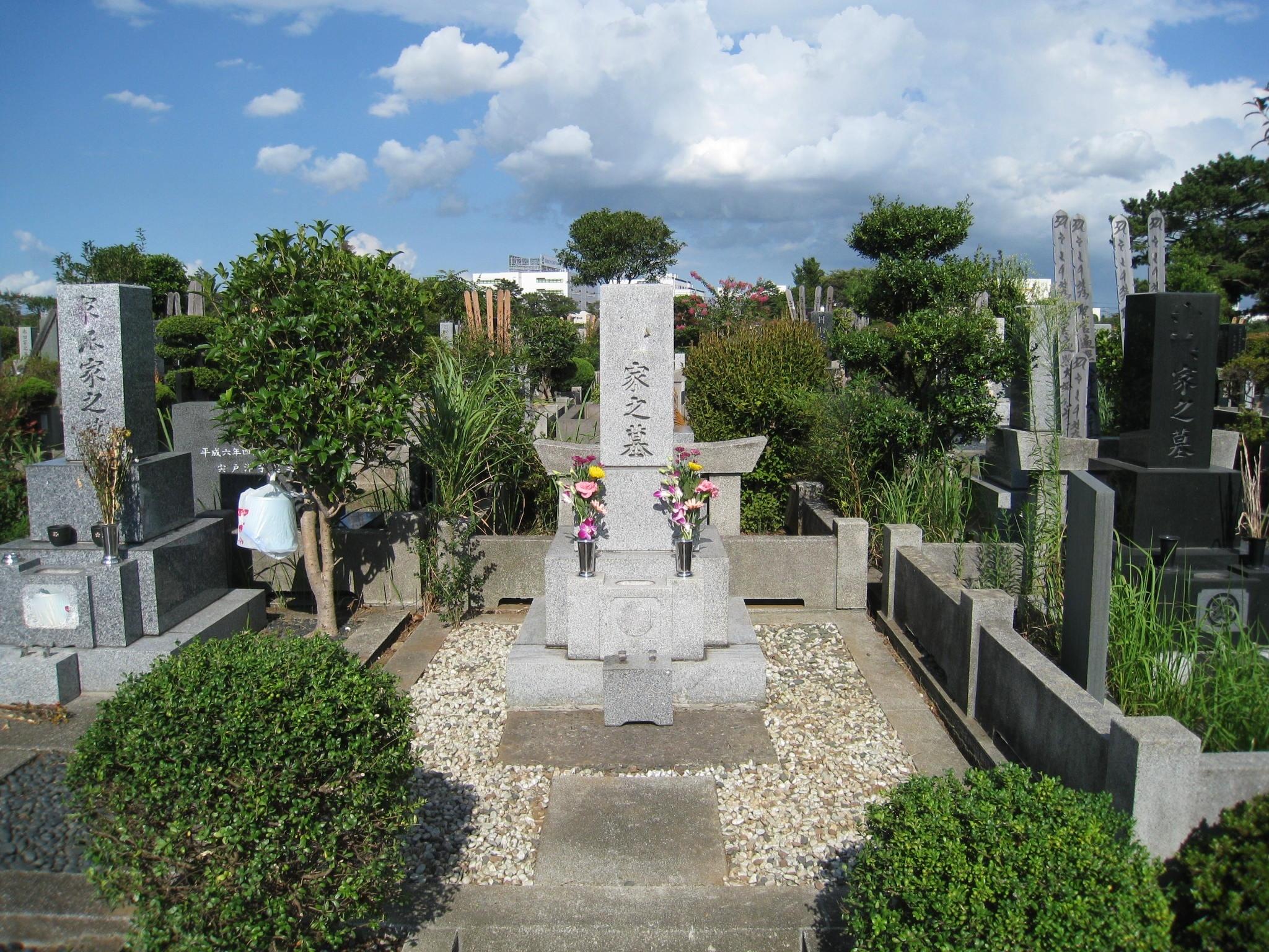 墓石クリーニングafter