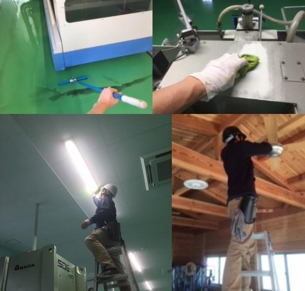 愛知県小牧市 工場清掃
