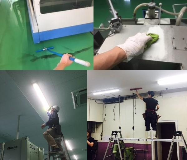 愛知県工場清掃