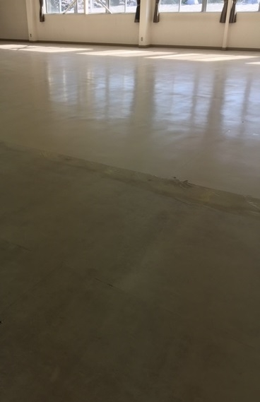 岐阜県工場床清掃