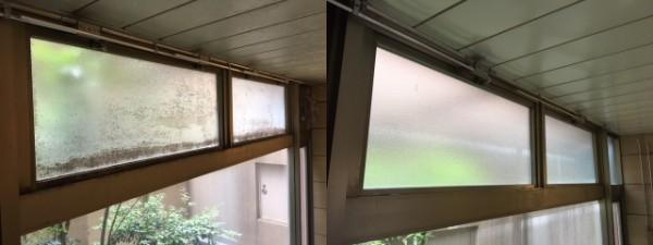 愛知県岐阜県ホテル大浴場カビ取り掃除