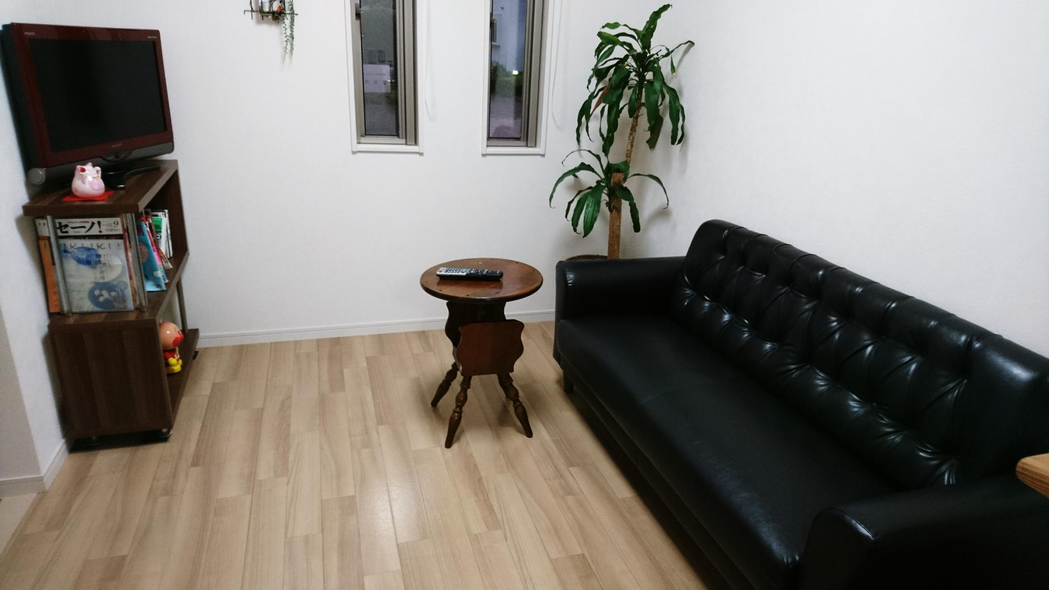 花の木治療院 待合室