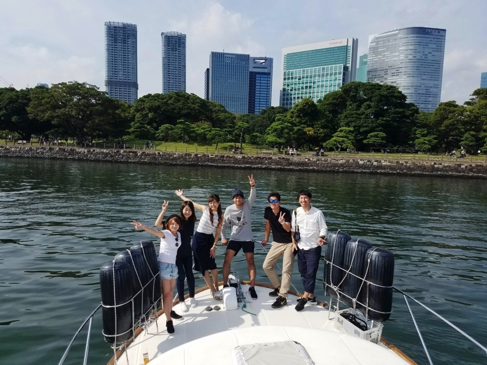 隅田川東京湾クルーズ
