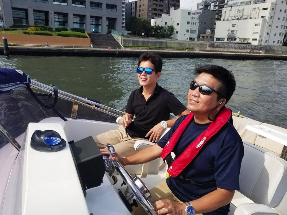 隅田川東京湾クルーズ2
