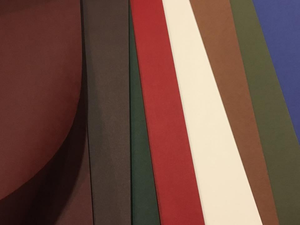 洋紙「ビオトープGA」 45k (545×788mm)新たに4色追加しました。