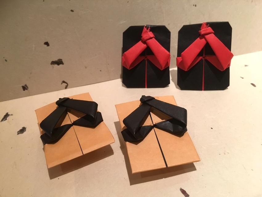 折り紙体験のお知らせです♪ 「下駄」を折ろう!