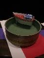 耐水紙「ユポ」の船