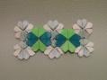 折り紙「クローバー」