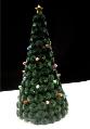 フリンジでいっぱい!クリスマスツリー
