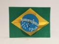 バッチ「ブラジル国旗かざぐるま」